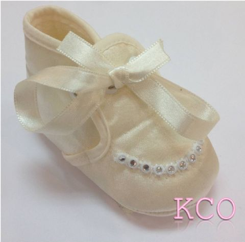 Style FJS011 Ivory~ Girls Shoes